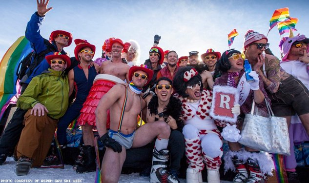 This Just Out: Gaspin' for Aspen Gay Ski Week and Other News