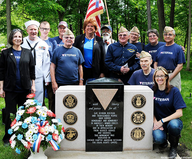 Visit First Federal Monument By & For LGBT Vets