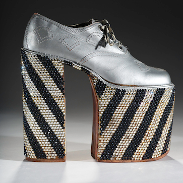 Standing Tall: A Curious History of Men in Heels