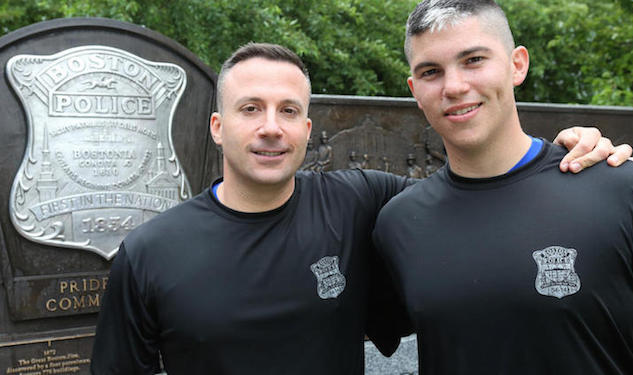 Boston's Finest: Gay Couple Is First to Graduate Police Academy Together