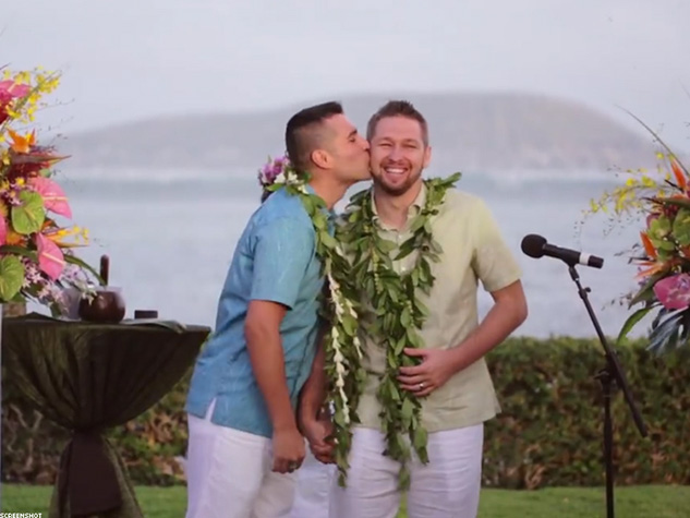WATCH: Military Couple Surprised with Hawaii Dream Wedding