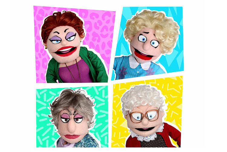 Golden Girls Puppet Show