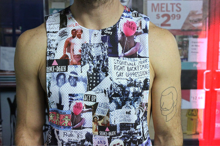 Coveted: Mesh Muscle Tank Pays Tribute to Historic LGBTQ Pioneers